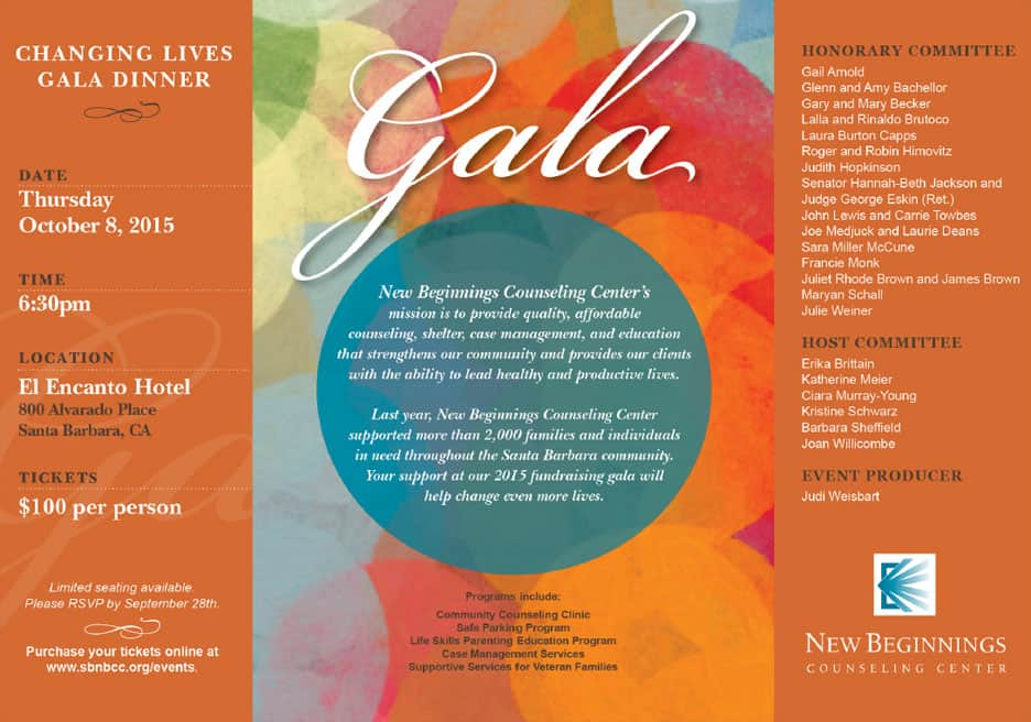 2015 New Beginnings Gala