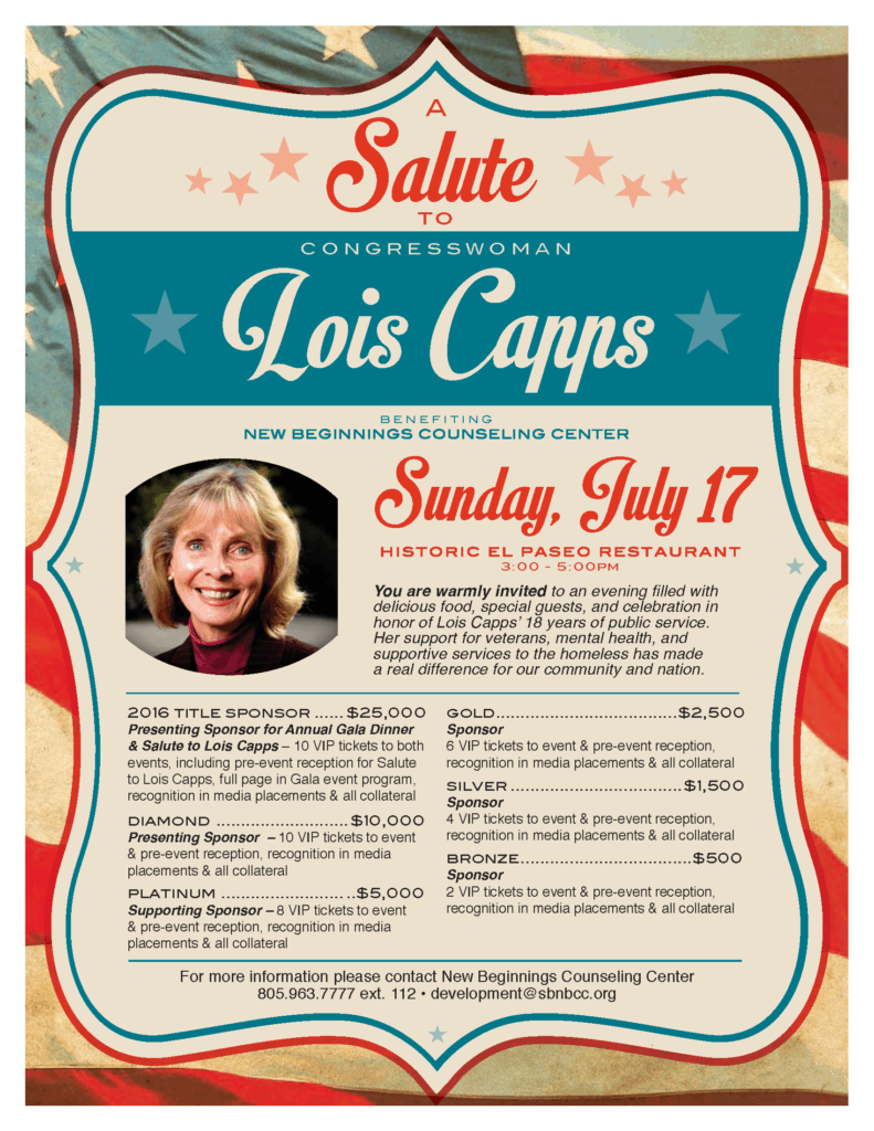 Salute to Lois Capps