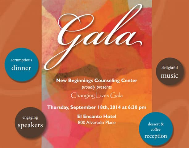 Santa Barbara New Beginnings Gala 2014