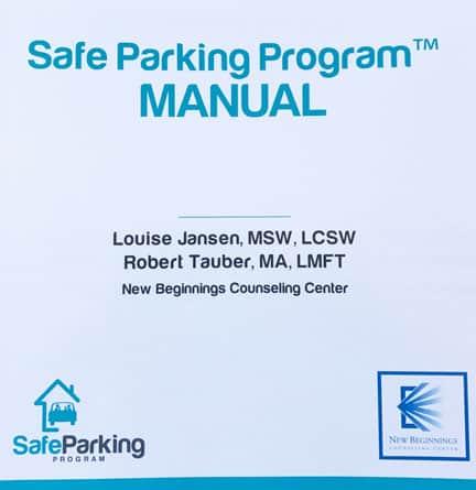 New Beginnings Safe Parking Program Manual