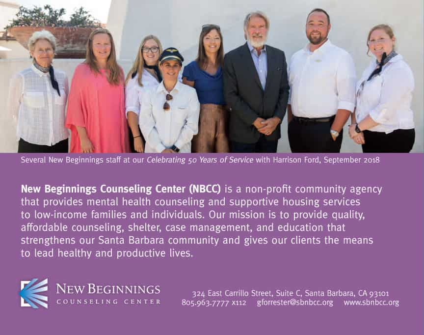 2018 Successes - New Beginnings Counseling Center, Santa Barbara