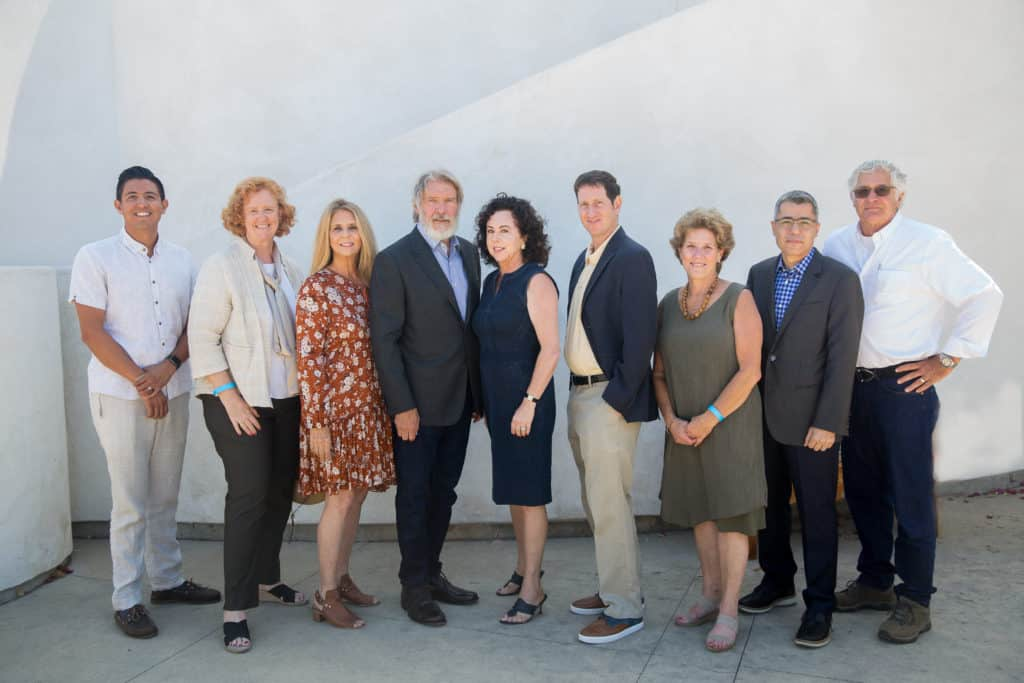 Board of Directors with Harrison Ford