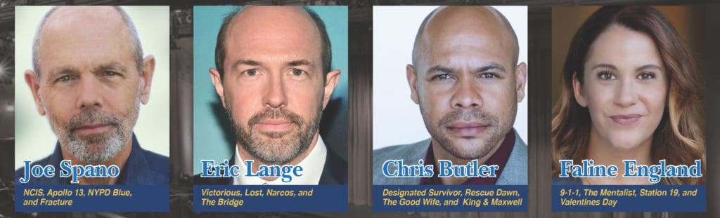 Cast includes Joe Spano, Eric Lange, Chris Butler, and Faline England
