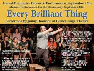 Annual Fundraiser: Every Brilliant Thing